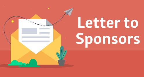 Letter to Sponsors